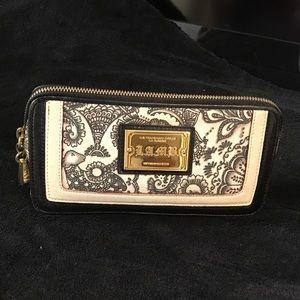 L.A.M.B. clutch or make-up bag